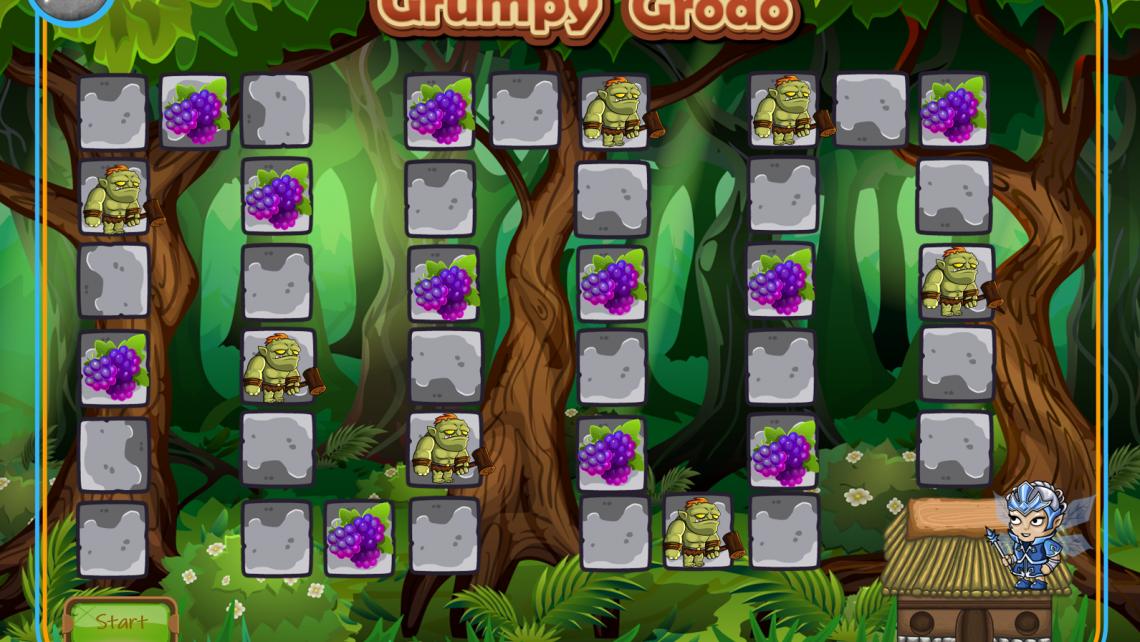 Grumpy Grodo Practical Game